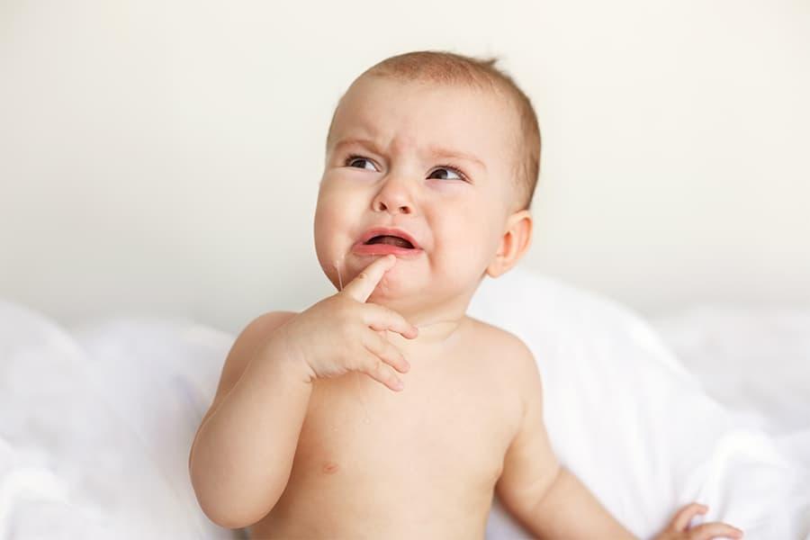 como aliviar la denticion del bebe